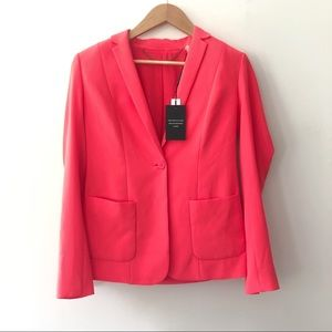 NWT Elie Tahari Fluorescent Pink Summer Blazer